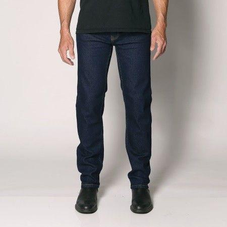 "Sterling - Men's Regular Fit Stretch Denim Jeans - Straight Leg - 30""/32""/34"" Inleg - ""Rinse"" Waist Size: 30""-48"""