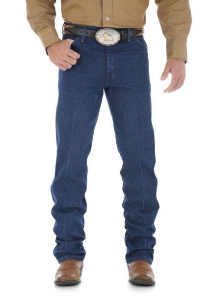 Men's Wrangler Original Cowboy Cut Denim Heavyweight Denim Jean
