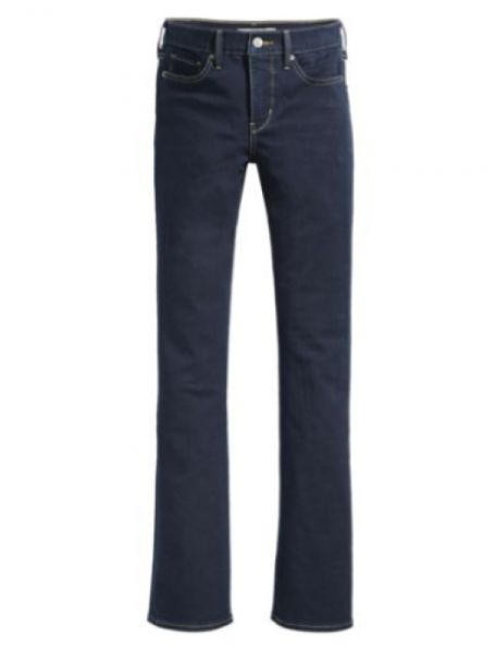 Ladies' Levi's 315 Shaping Bootcut Stretch Denim Jeans DARK BLUE WASH