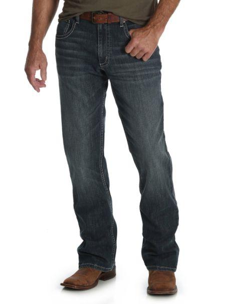 Men's Wrangler 20x Vintage Bootcut Denim Jeans GLASGOW
