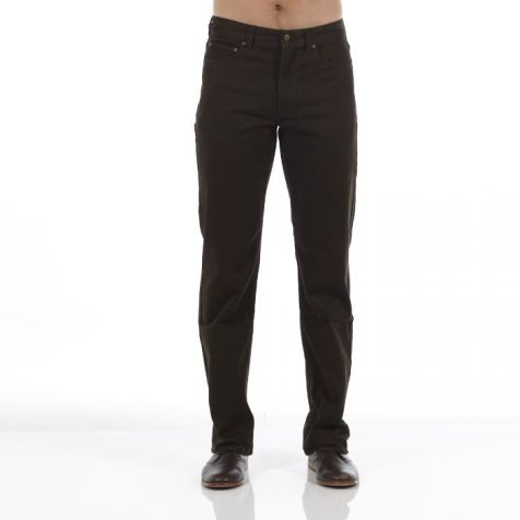 Men's Riders by Lee Jean Style Straight Stretch Moleskins TARMAC