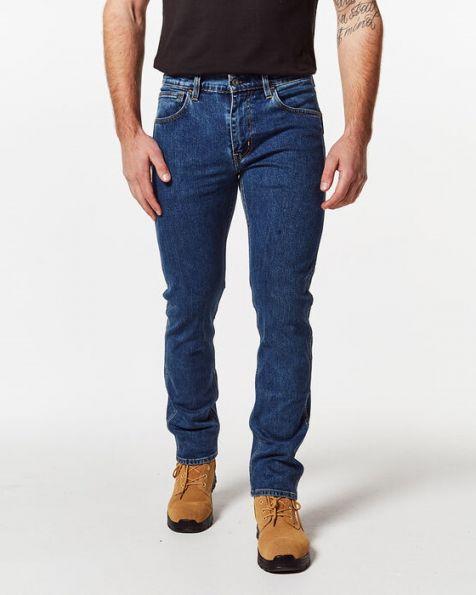 Men's Levi's 511 Slim Fit WORKWEAR Stretch Denim Jeans MEDIUM STONEWASH