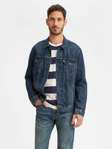 "Men's Levi's ""The Trucker"" Denim Jacket PALMER TRUCKER"