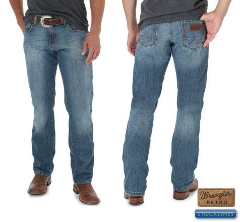 Men's Wrangler Retro Slim Straight Jeans ROCKY TOP