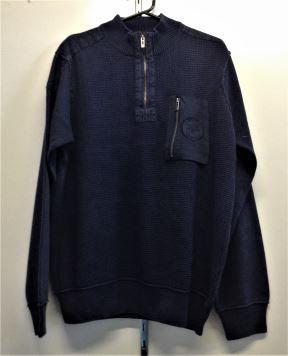 Berlin Mens Stonewashed Sweatshirts - Navy
