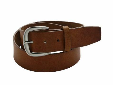 Buckle 1922 Men's Buffalo Leather Belt in Dessert