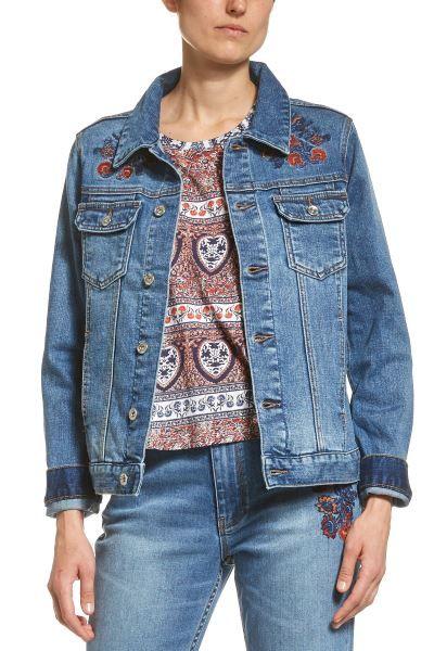 Ladies' JAG Lizzy Embroidered Denim Jacket