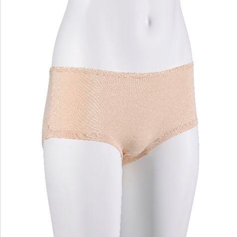 Ladies' Bamboo Fibre Boy Leg Underwear BLACK