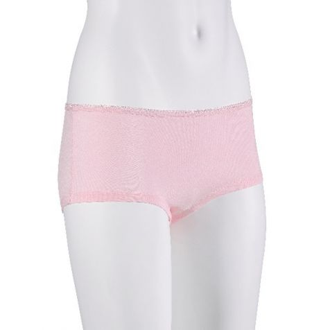 Ladies' Bamboo Fibre Boy Leg Underwear FLESH