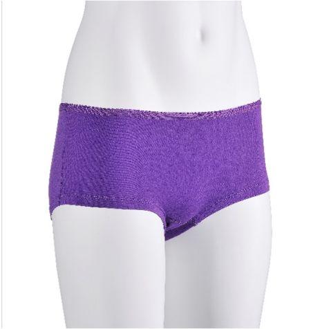 Ladies' Bamboo Fibre Boy Leg Underwear PALE PINK