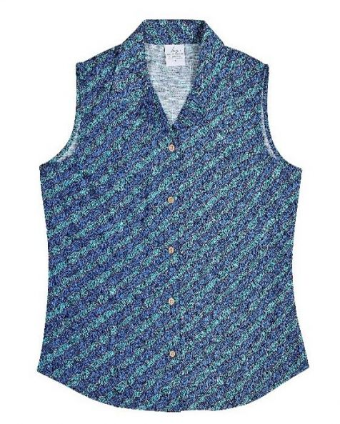Ladie's Bamboo Fibre Sleeveless Shirt - Water Dreaming