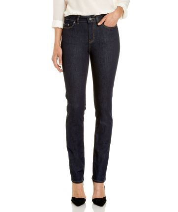 """Ladies JAG 'The Bianca' - High Rise Slim Straight Jeans in """"Raw Rinse"""""""