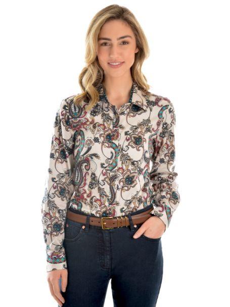 Ladies' Thomas Cook 'Kasey' Long Sleeve Shirt