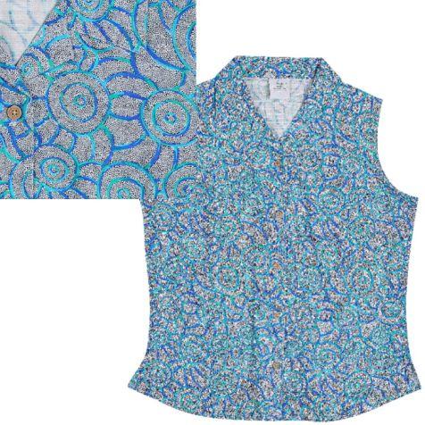 Ladies' Bamboo Sleeveless Shirt BUSH TAIL POSSUM