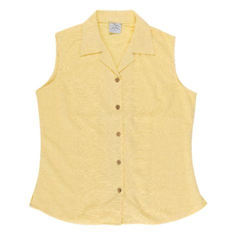Ladies' Bamboo Sleeveless Shirt LEMON