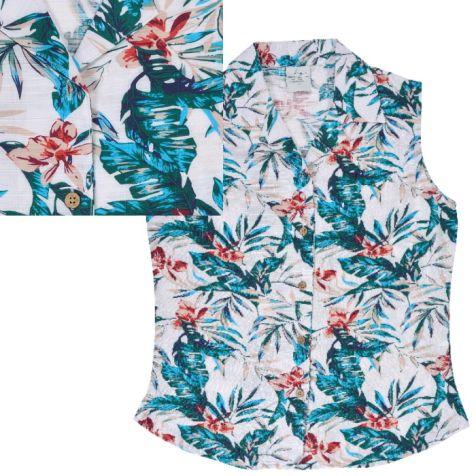 Ladies' Bamboo Sleeveless Shirt PACIFIC ISLANDS