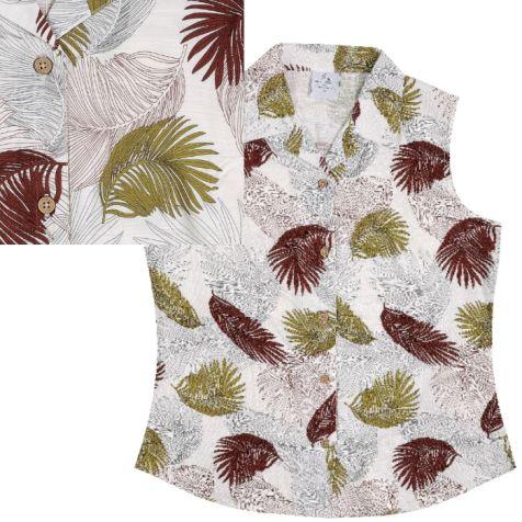 Ladies' Bamboo Sleeveless Shirt URBAN JUNGLE