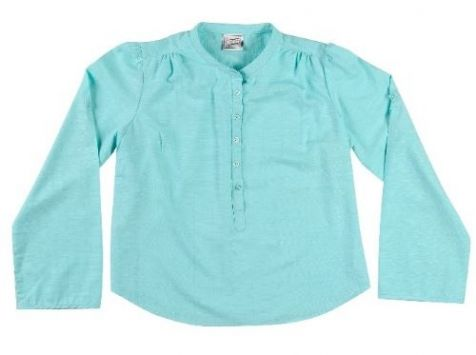 Ladies Long Sleeve Bamboo Shirt - Marine
