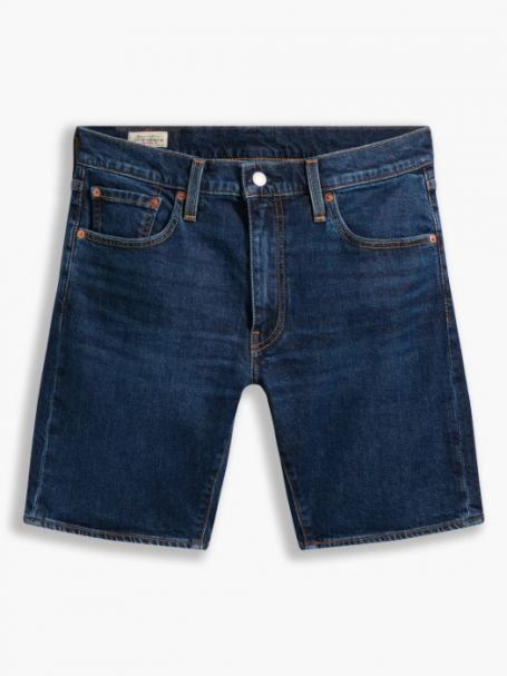 Men's Levi's 412 Slim Denim Jean Shorts Hi Bye Bye Adv