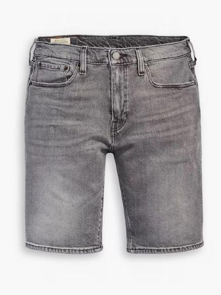 Men's Levi's 502 Taper Denim Jean Shorts GREY