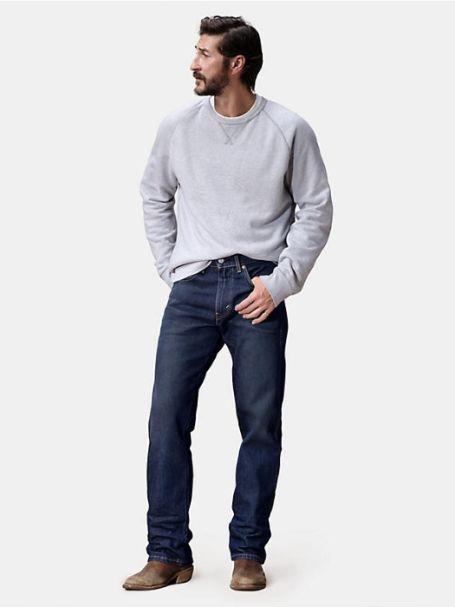 Men's Levi's Western Fit Straight Stretch Denim Jeans