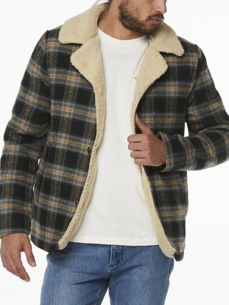 Men's Wrangler Cabin Jacket BLACK CHECK