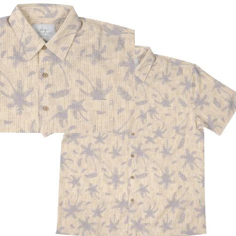 Men's Bamboo Fibre Short Sleeve Shirts PALM COVE