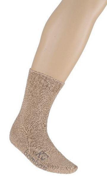 Bamboo Fibre Work Socks - Sand (Default)