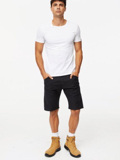 Men's Levi's Work Wear 505 Utility Shorts BLACK CANVAS