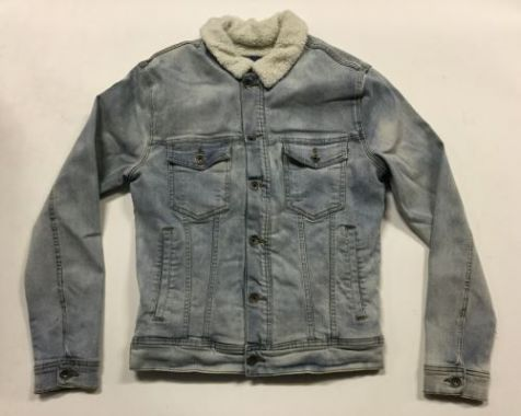 Men's Silent Theory - Denim Jacket with Sherpa Lining