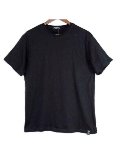Men's 100% Cotton Basic Black T-Shirt