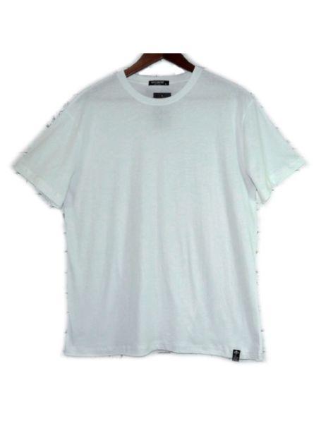Men's 100% Cotton Basic White T-Shirt