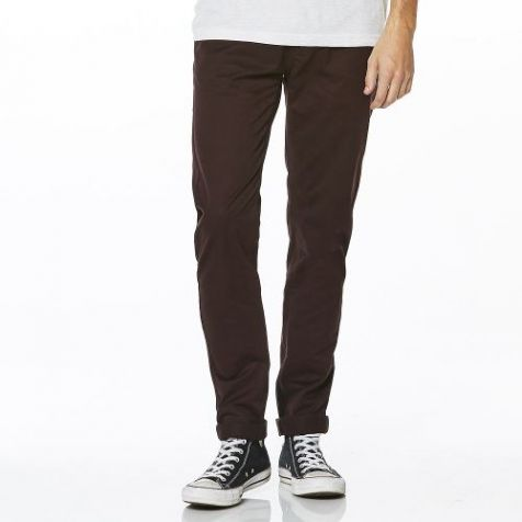 Riders by Lee Men's Skinny LeyChino Stretch Pants RUSSET