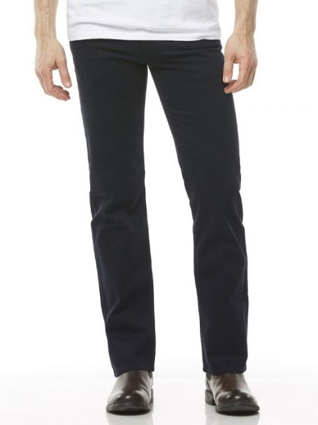 Men's Riders by Lee Jean Style Straight Stretch Moleskins NAVY