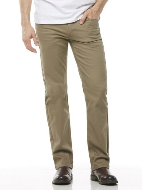 Men's Riders by Lee Jean Style Straight Stretch Moleskins MOSS