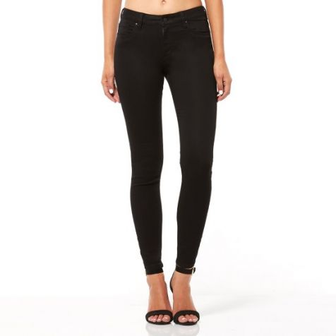 Riders By Lee Ladies Mid Vegas- Mid rise with a Skinny Fit Leg - Black Void