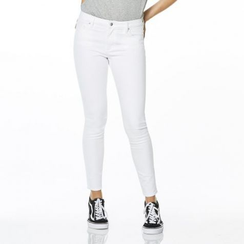 Ladies' Riders by Lee Mid Vegas Stretch Jeans WHITE WASH