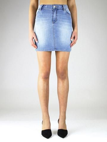 RES Ladies Denim Skirt - FAREWELL BLUES in Lil Lover