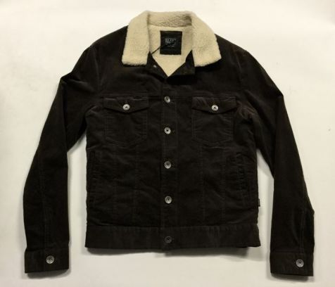 Silent Theory - Men's Wyoming Brown Cord Jacket
