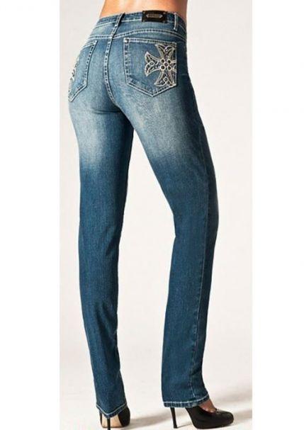 Ladies' Tru Luxe Rio De Janeiro Mid-Rise Skinny Leg Jeans MEDIUM WASH