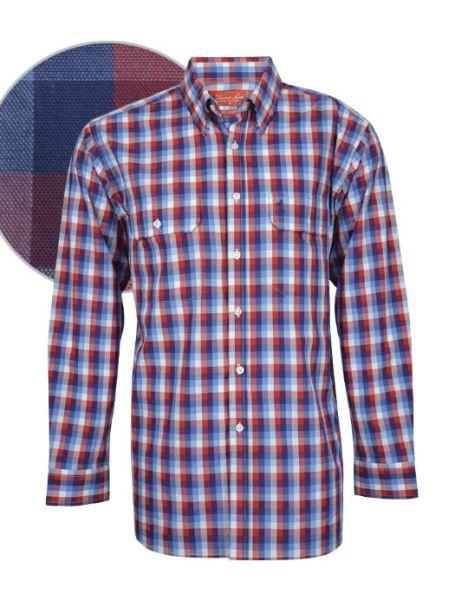 Men's Thomas Cook Button Up Long Sleeve Shirt JIMBOUR CHECK