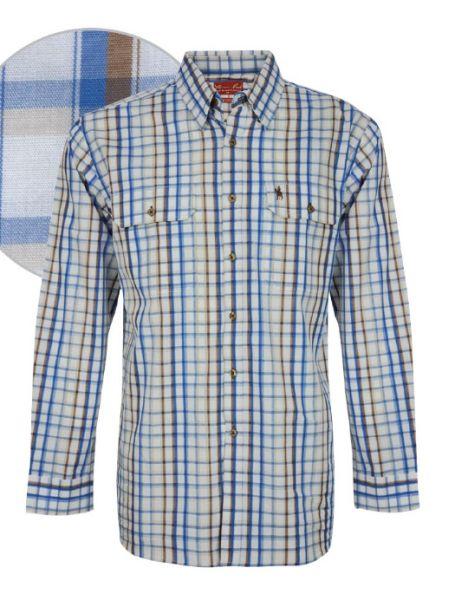 Men's Thomas Cook Button Up Long Sleeve Shirt HARROW CHECK