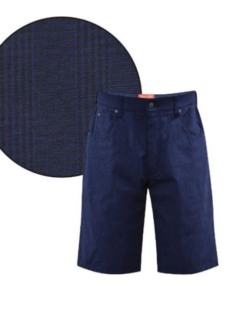 Men's Thomas Cook Comfort Waistband Stretch Shorts ROTHBURY CHECK