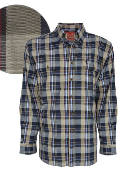 Men's Thomas Cook Button Up Long Sleeve Shirt MARK CHECK