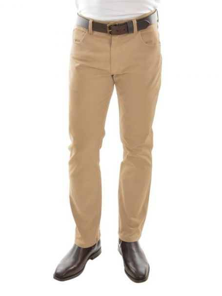 Men's Thomas Cook Tailored Slim Leg Stretch Moleskin Jeans SAND