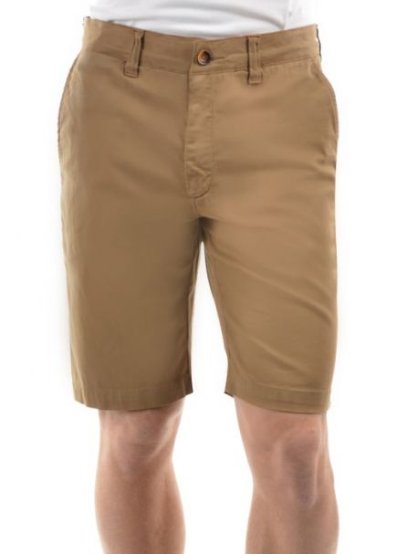 Thomas Cook Men's Tailored Fit Mossman Comfort Waist Shorts CAMEL