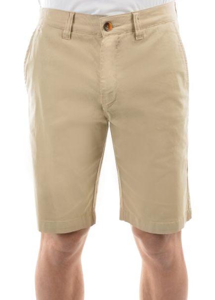 Thomas Cook Men's Tailored Fit Mossman Comfort Waist Shorts BONE