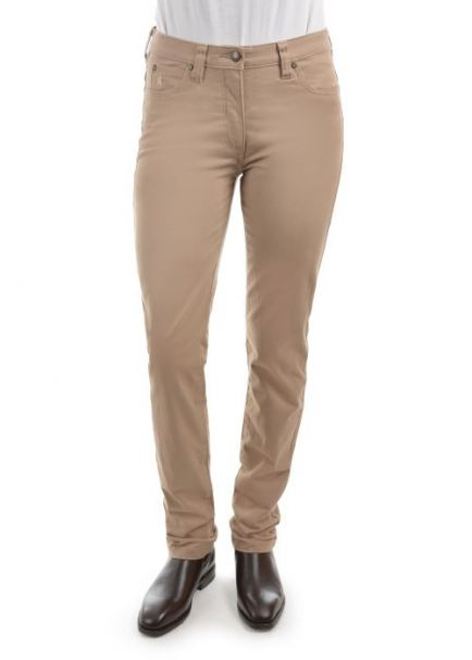 Ladies' Thomas Cook Mid-Rise Slim Stretch Moleskins SAND
